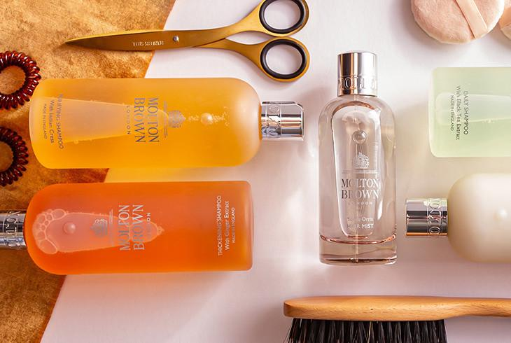 A luxury at-home haircare regime. READ MORE