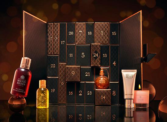 Inside the Molton Brown Luxury Advent Calendar