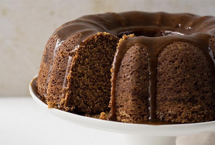 Spiced Ginger Bundt Cake