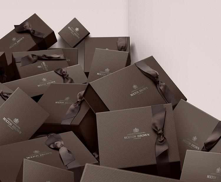 Wrapped in luxury, with our bespoke gift wrapping.
