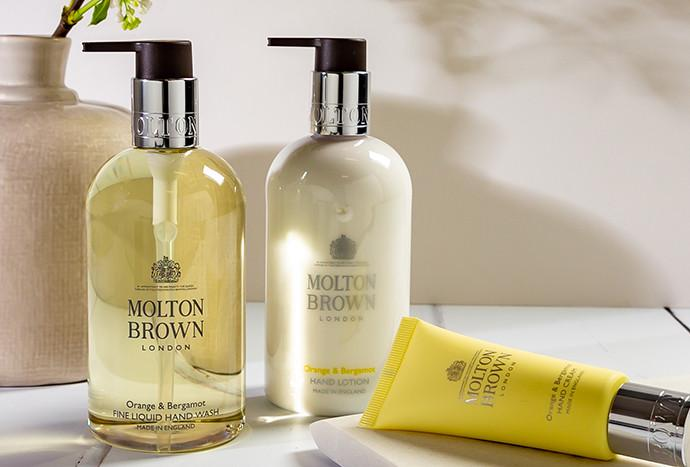 Leave your hands clean as a whistle with our hand washes. SHOP NOW
