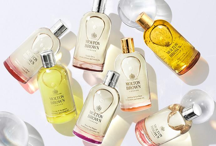Discover Molton Brown NEW Bathing Oils. SHOP NOW
