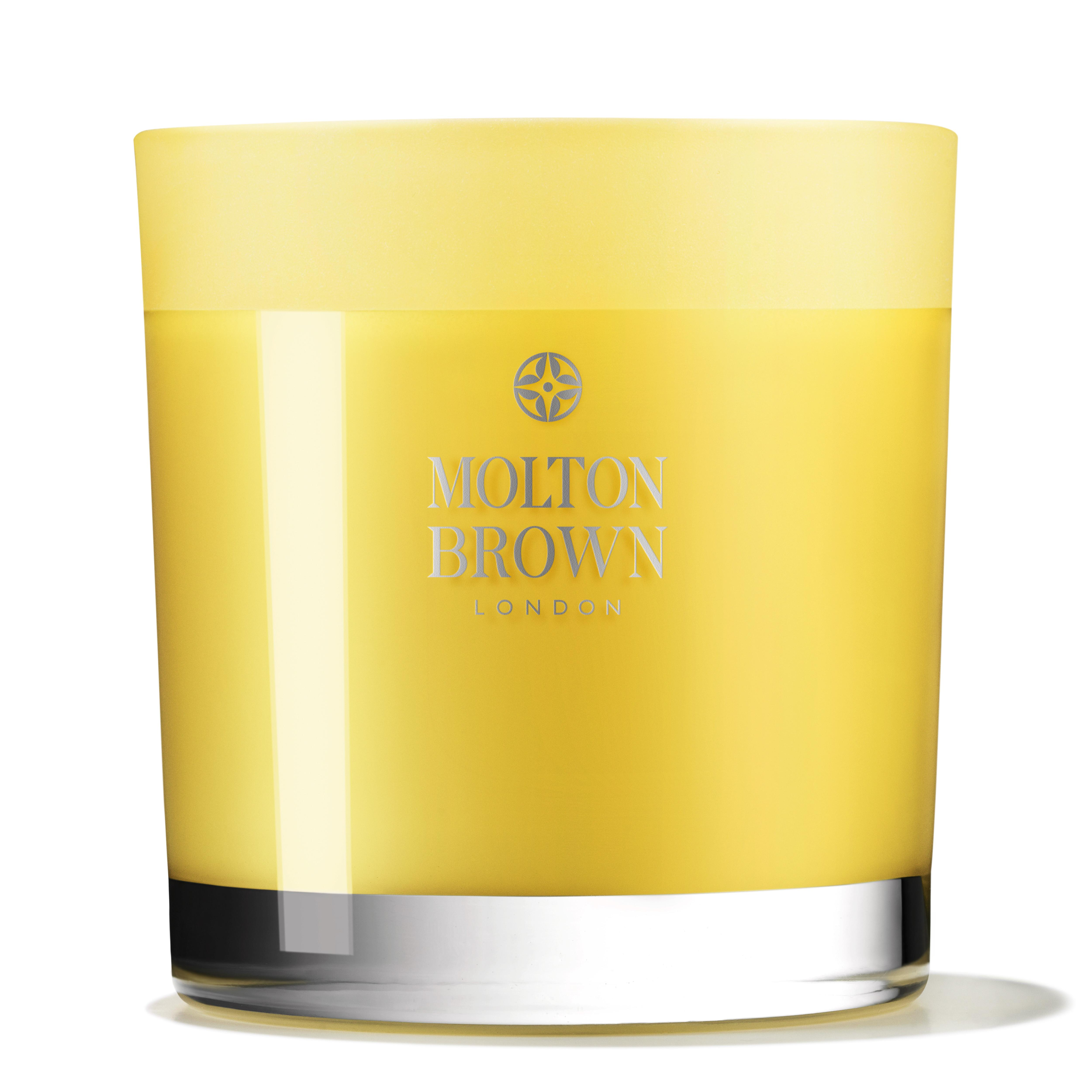 Molton brown orange bergamot three wick scented scented for Candele on line