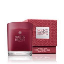 Molton Brown USA  Patchouli & Saffron Single Wick Scented Candle