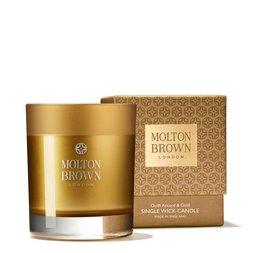 Molton Brown Australia Oudh Accord & Gold Single Wick Scented Candle