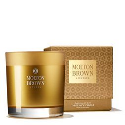 Molton Brown Australia Oudh Accord & Gold Three Wick Scented Candle