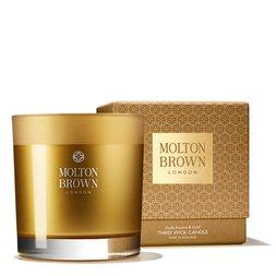 Molton Brown Australia Oudh Accord & Gold Three Wick Scented Candle