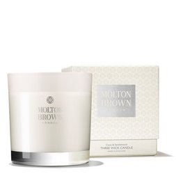 Molton Brown USA  Coco & Sandalwood Three Wick Scented Candle