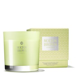 Molton Brown UK Dewy Lily of the Valley & Star Anise Three Wick Scented Candle