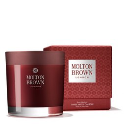 Molton Brown USA  Rosa Absolute Three Wick Scented Candle