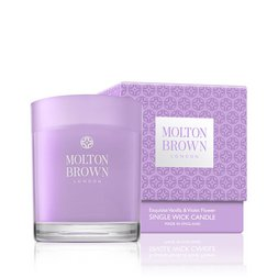 Molton Brown USA  Limited Edition Vanilla & Violet Flower Scented Candle