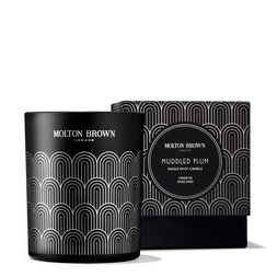 Molton Brown USA  Muddled Plum Single Wick Scented Candle