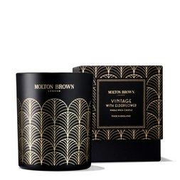 Molton Brown EU  Vintage With Elderflower Single Wick Scented Candle