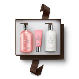 Molton Brown UK Rhubarb & Rose 3-piece Hand Care Gift Set