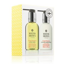 Molton Brown USA  Orange & Bergamot Travel Size Hand Wash & Lotion Set