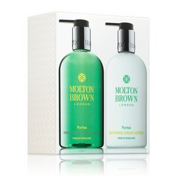 Molton Brown USA  Puritas Limited Edition Hand Wash & Lotion Home Gift Set