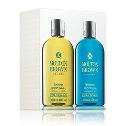 Molton Brown USA  Bushukan & Templetree Limited Edition Body Wash Gift Set