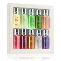 Molton Brown Australia 10-piece Travel-size Shower Gel Set