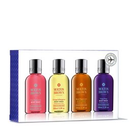 Molton Brown EU  4 Piece Travel Size Bath & Shower Gel Set