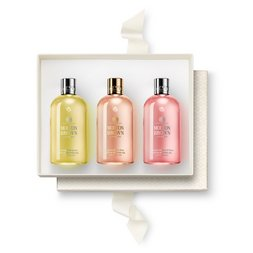 Molton Brown EU  Perfectly Pampering 3-Piece Bath and Shower Gel Gift Set