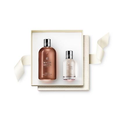 Suede Orris Fragrance Rituals Gift Set. Choose Your Sticker