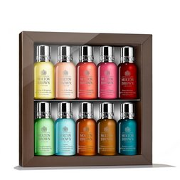 Molton Brown EU  10-Piece Mini Bath & Shower Gels Travel Size Set