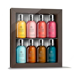 Molton Brown EU  8-Piece Mini Bath & Shower Gels Travel Size Set