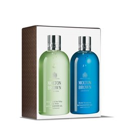 Molton Brown USA  Dewy Lily of the Valley & Blissful Templetree Bath & Shower Gel Duo