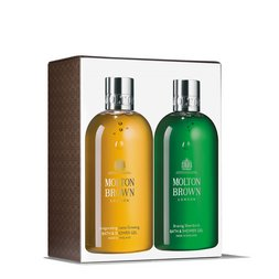 Molton Brown USA  Suma Ginseng & Silverbirch Bath & Shower Gel Duo