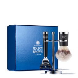 Molton Brown UK Men's Shaving Brush and Razor Set