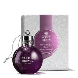 Molton Brown UK Muddled Plum Shower Gel Bauble