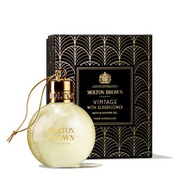 Molton Brown USA  Vintage With Elderflower Festive Bauble