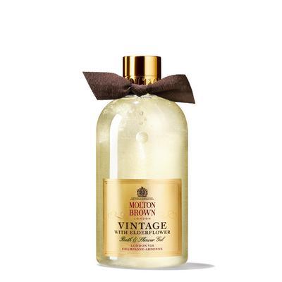 Vintage with Elderflower Bath and Shower Gel