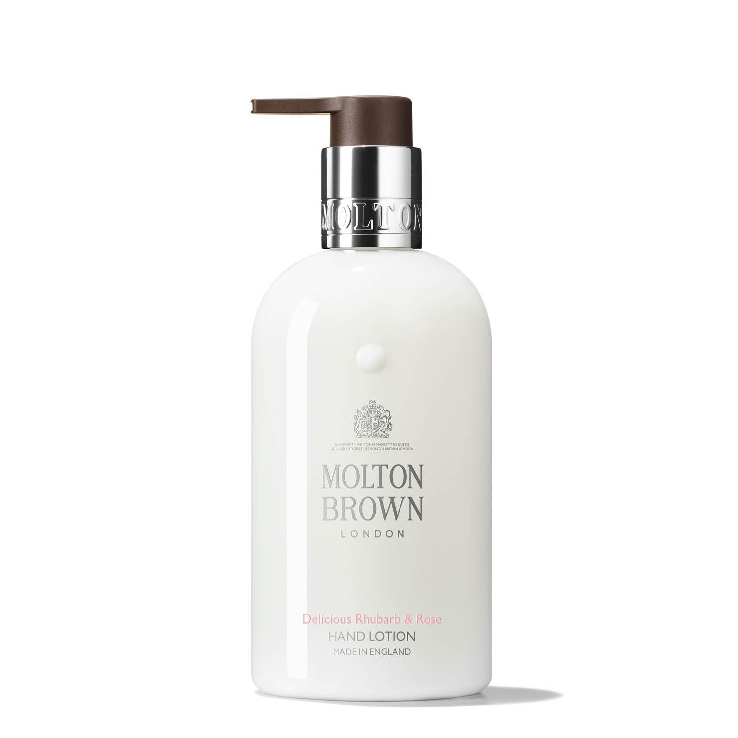 Delicious Rhubarb & Rose Hand Lotion by Molton Brown