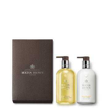 Orange and Bergamot Hand Wash and Lotion Set