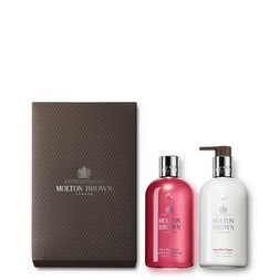 Molton Brown UK Pink Pepper Shower Gel & Body Lotion Gift Set