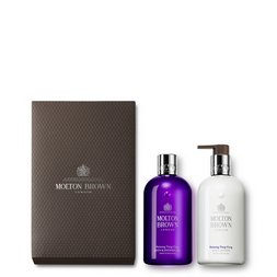 Molton Brown UK Ylang-Ylang Shower Gel & Body Lotion Gift Set