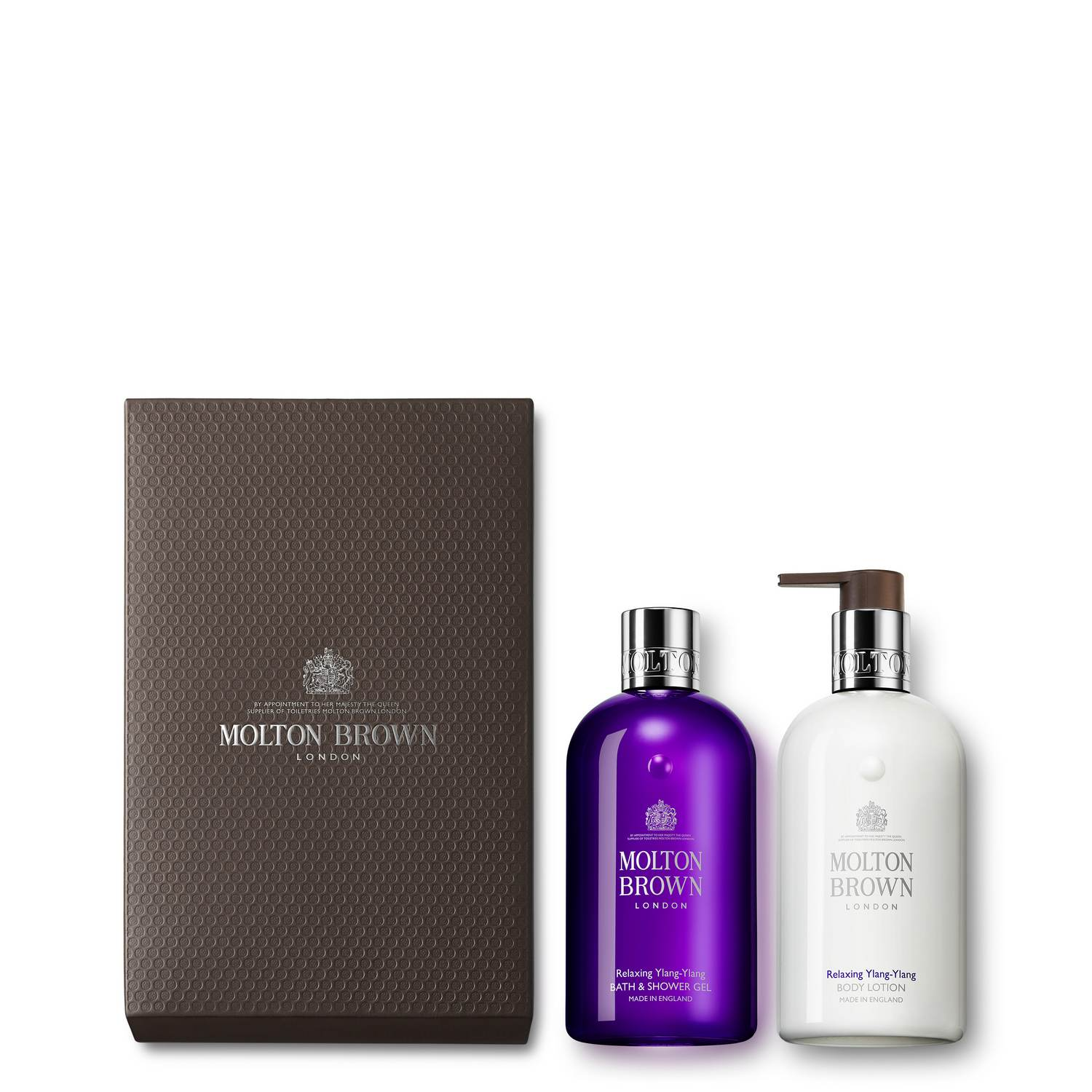 Relaxing Ylang Ylang Shower Gel & Lotion Gift Set by Molton Brown