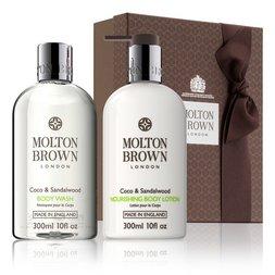 Molton Brown Australia Coco & Sandalwood Shower Gel & Body Lotion Gift Set