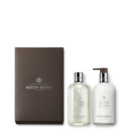 Molton Brown UK Coco & Sandalwood Shower Gel & Body Lotion Gift Set