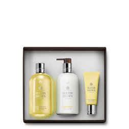 Molton Brown EU | Orange & Bergamot Shower Gel, Body Lotion & Hand Cream Gift Set