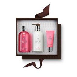 Molton Brown Australia Pink Pepper Shower Gel, Body Lotion & Hand Cream Set