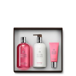 Molton Brown UK  Pink Pepper Shower Gel, Body Lotion & Hand Cream Set