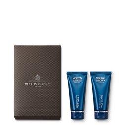 Molton Brown USA  Face Wash & Scrub Gift Set for Men