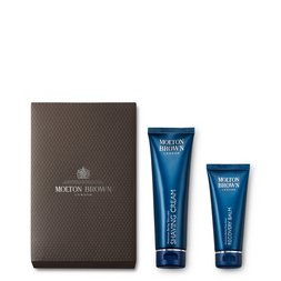 Molton Brown USA  Shaving Cream & Aftershave Balm Gift Set for Men