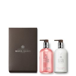 Molton Brown USA  Rhubarb & Rose Hand Wash & Hand Lotion Set