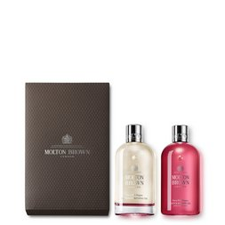 Molton Brown UK Fiery Pink Pepper Bathing Oil Gift Set