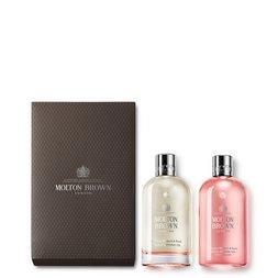 Molton Brown USA  Rhubarb & Rose Bathing Oil Gift Set