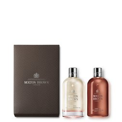 Molton Brown EU  Suede Orris Bathing Oil Gift Set