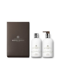 Molton Brown UK Milk Musk Bath & Shower Gel & Body Lotion Gift Set